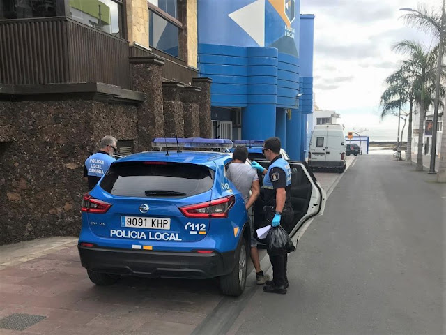 detencion%2Bpolicia%2Blocal%2Bestado%2Balarma - Fuerteventura.- Detenido en Corralejo por desobediencia reiterada y otros delitos