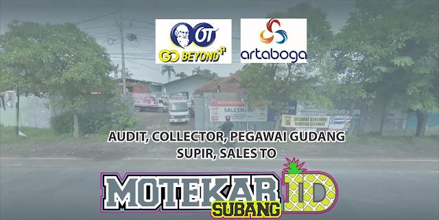 Info Loker Walk Interview PT. Artaboga Cemerlang Subang 2019