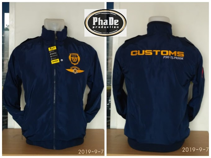 JAKET MAYER PATROLI LAUT PSO BEACUKAI TANJUNG PRIOK by PhaDe Production