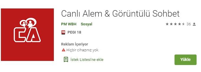 Canlı Alem Mobil Sohbet Download