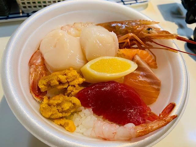 青森魚菜中心-古川市場-青森魚菜センター本店-海鮮丼飯