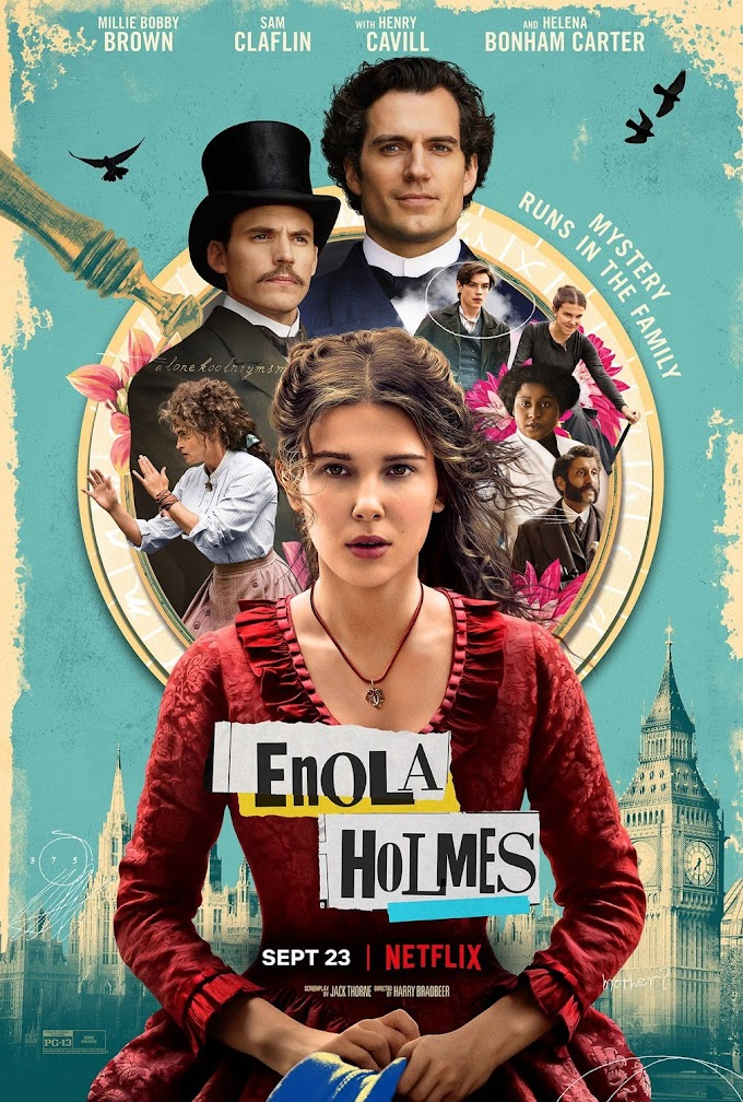 Enola Holmes (2020) Dual Audio [Hindi DD 5.1 + English] Web-DL 1080p 720p 480p [Netflix Movie]