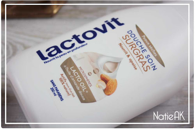 gel douche  Surgras de Lactovit