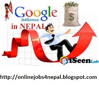 online+jobs+Nepal+google+adsense+Payment