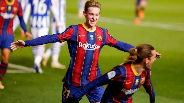 ملخص اهداف مباراة برشلونة و ريال سوسيداد (3-2) في كأس السوبر الإسباني