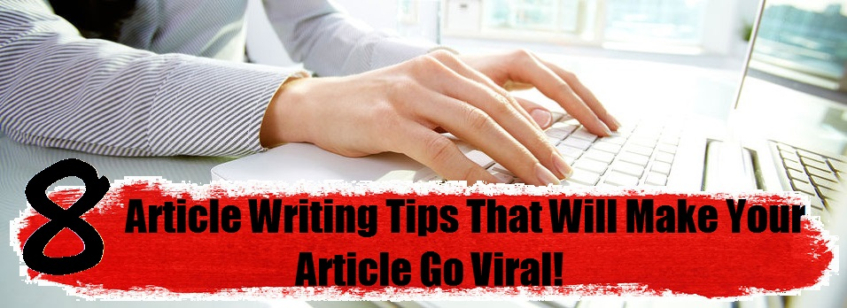 Article Writing Tips for Beginners