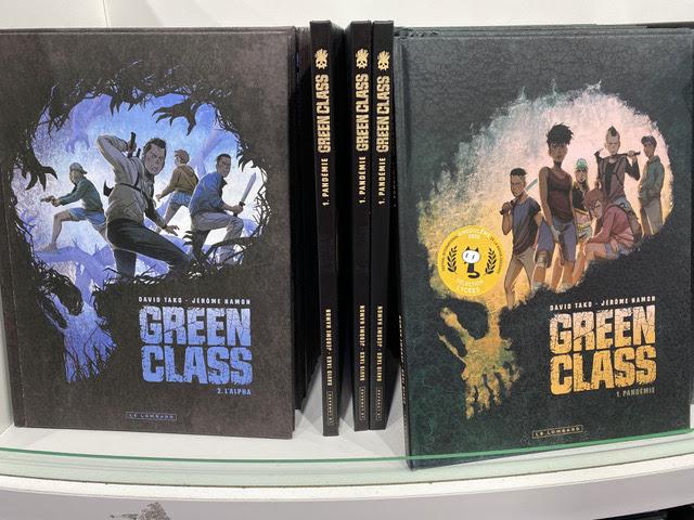 """Letrablanka lanzará el vol. 2 de """"Green Class"""" de David Tako y Jérôme Hamon."""