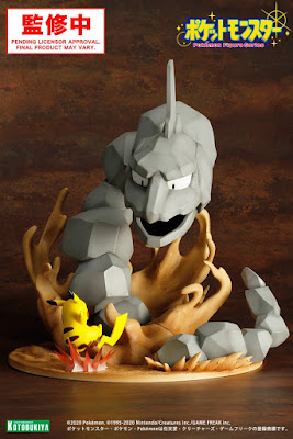 Onix vs Pikachu Figura Colecionável
