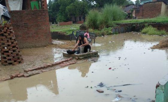 Jalbhrav Se Pareshan Log Kaushambi Uttar Pradesh News Vision