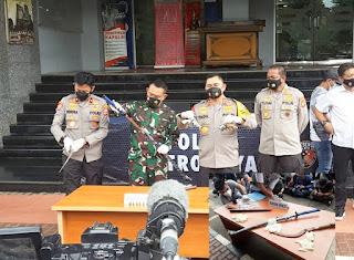 Diserang, Polda Metro Tembak Mati 6 Orang Simpatisan MRS