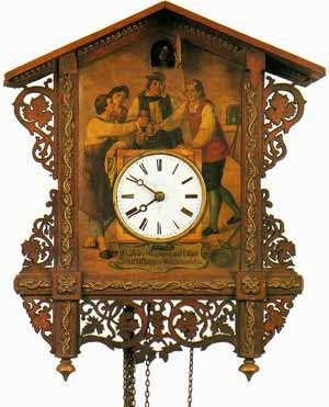 6e36ee77663 Atualmente existem três tipos básico de relógios cucos  Preto Chalé  Floresta (Kuckucksuhr Schwarz Chalet)