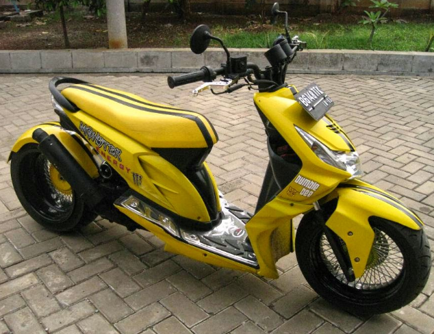 Modifikas Motor Matik Indonesia Honda BeAt