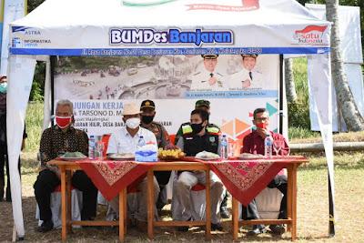 Kunjungan Wakil Bupati Majalengka Bank Sampah Banjaran Hilir