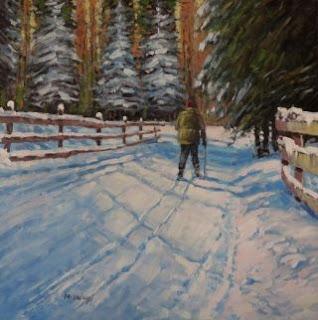 Пейзажист и портретист из Канады