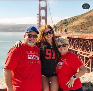 Arik S Wife Mindy With Parents