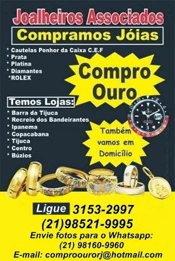 b2eda12e7a4 COMPRO  OURO  RJ (21) 3153-2997 E 97129-6611  CAUTELAS DA CAIXA  DIAMANTES   JÓIAS ...
