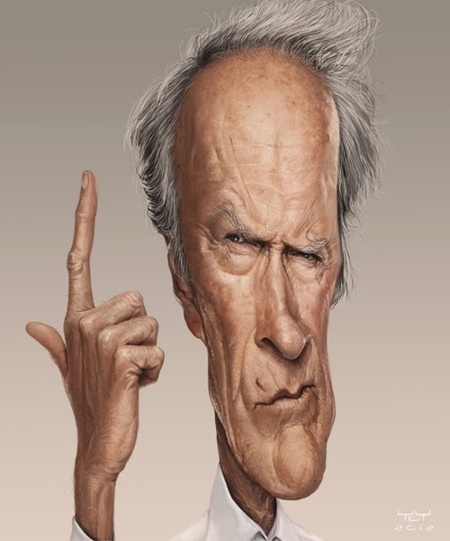 05-Clint-Eastwood-from-Gran-Torino-Million-Dollar-Baby-Space-Cowboys-Yoann-Lori-www-designstack-co