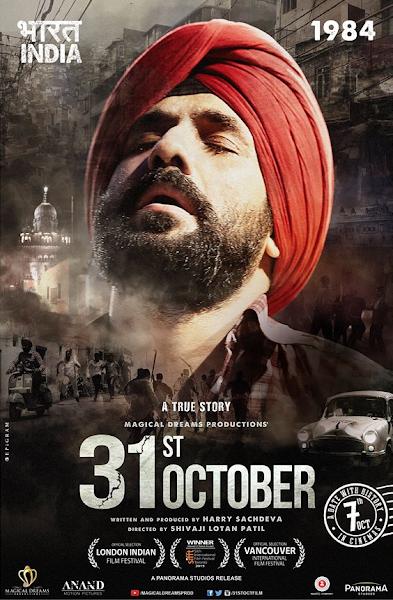 Poster of 31st October 2016 Hindi 720p HDRip Full Movie Download