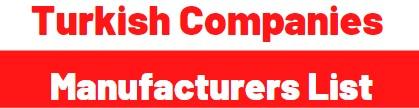 Turkish Manufacturer List