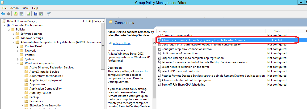 T-Solve Technology Commentary: Group policy changes to