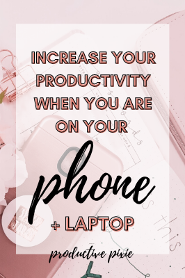 How to Increase Your Productivity Online