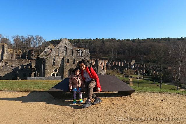 Villers Abbey from Ottignies-Louvain-la-neuve