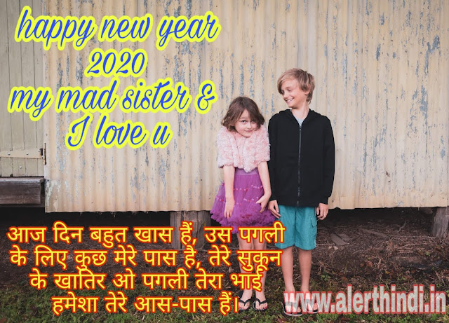 happy new year 2020 hindi shayari