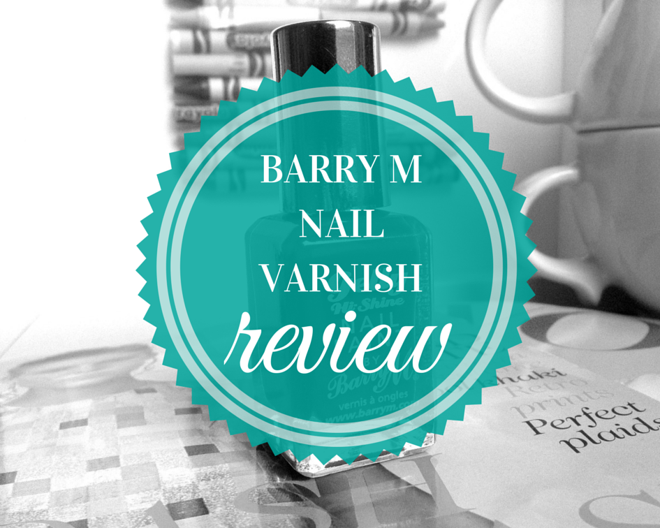 Barry M Nail Varnish Chilli Review