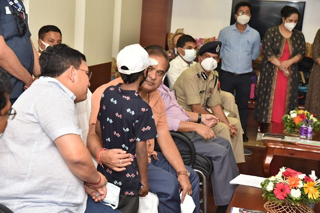 40 children and two adults trafficked to Sikkim rescued, Chief Minister spends time and interacts with the victims