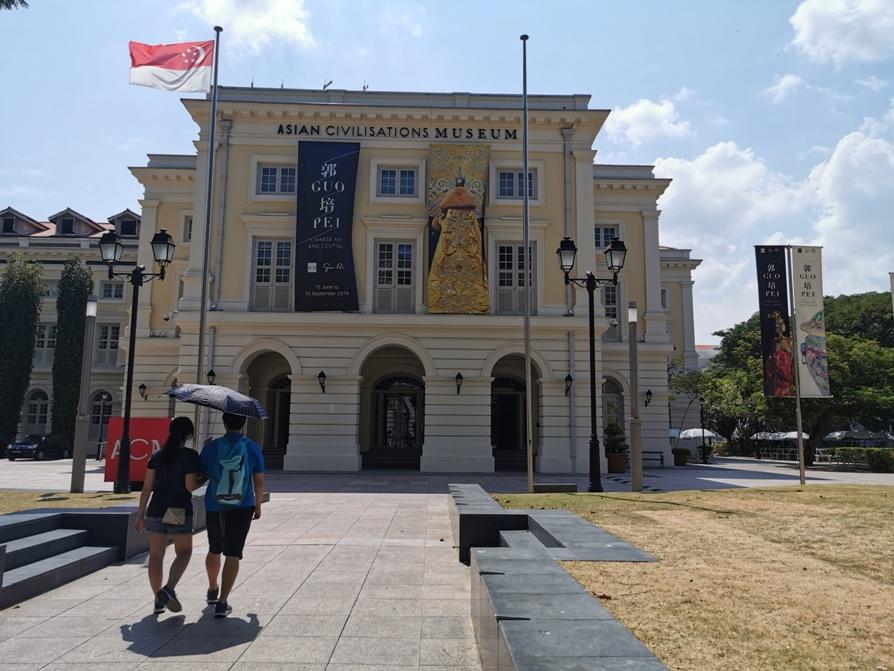 Fashionable heritage: Guo Pei at ACM Singapore