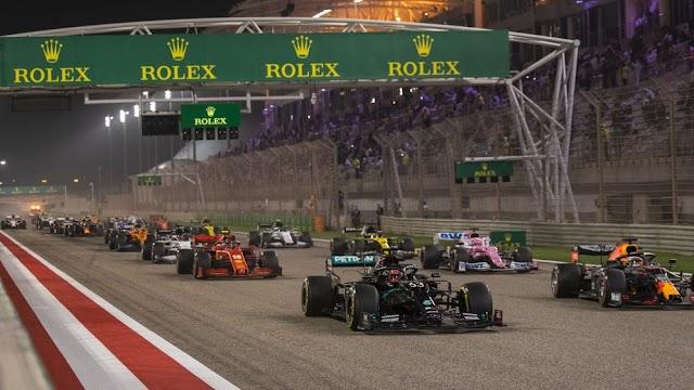 Hasil F1 GP Bahrain 2021 - Lewis Hamilton Finish Pertama Dan Debut Pahit Bagi Mick Schumacher