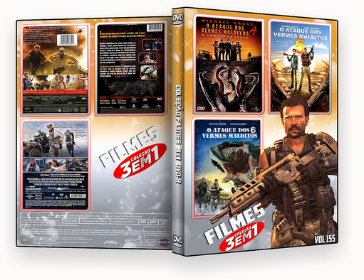 COLEÇÃO FILMES DVD-R VOL 155 DVD-R