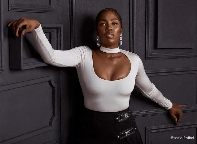 Tiwa Savage stuns in new photos as she covers Guardian Life Magazine
