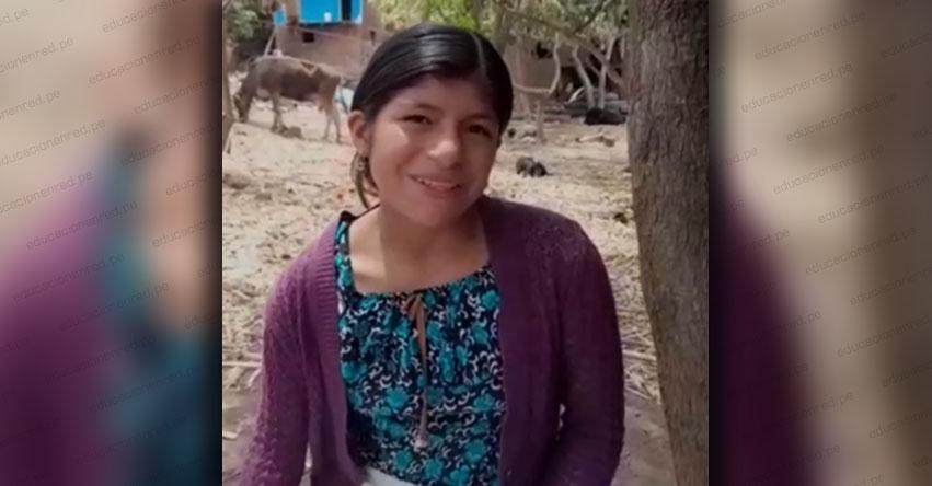 EDUCACIÓN PARA TODOS Y TODAS: Minibeth puede aprender sus cursos favoritos en quechua y español