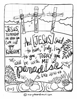 Come Luke 2342 43 Bible Coloring Page English Spanish