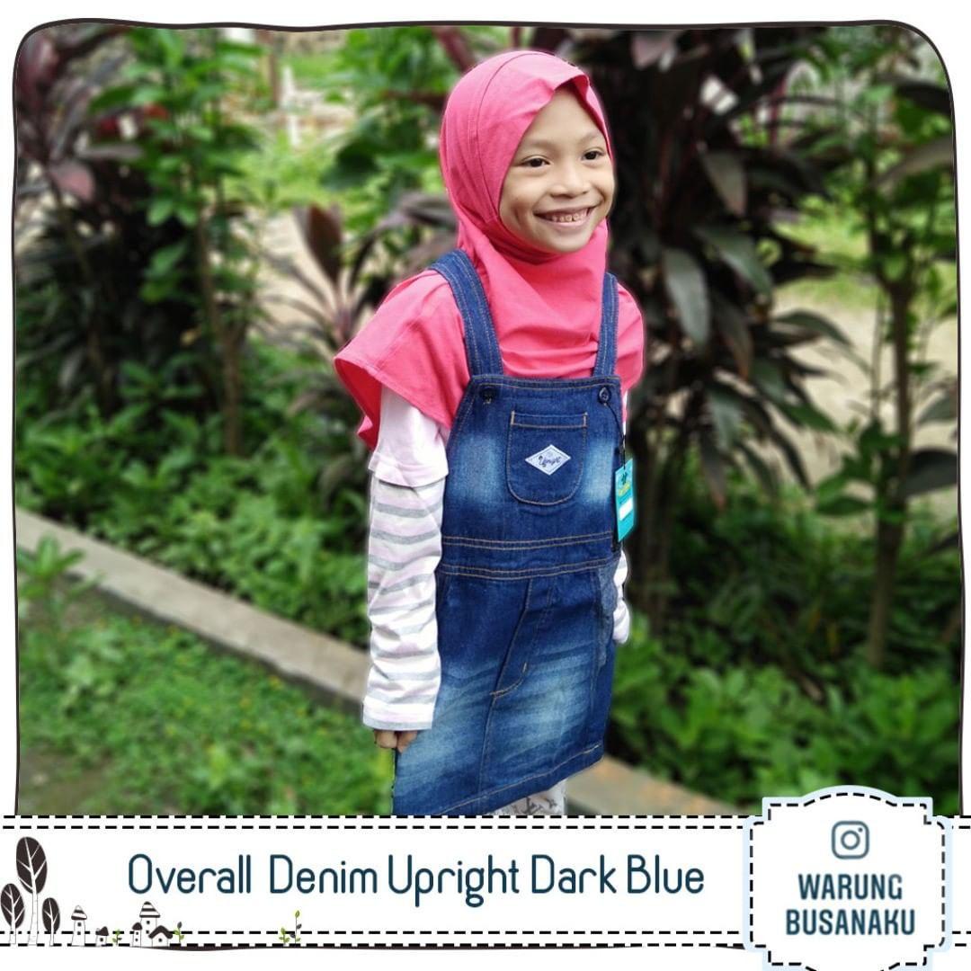 Overall Denim Anak Upright
