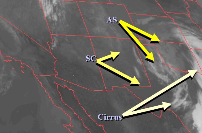 Module 4 - Cloud Identification |Altocumulus Clouds Satellite