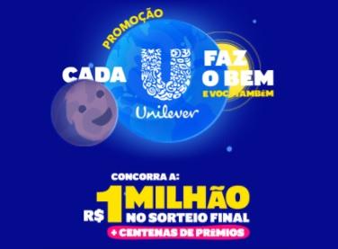 Cada U Faz o Bem Unilever Promoção 2021