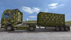 Army Container + Streamline skin