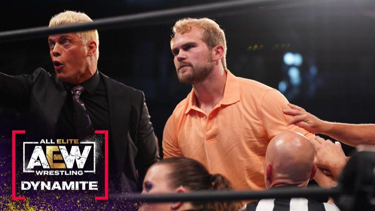 Brock Anderson faz sua estreia nos ringues da AEW