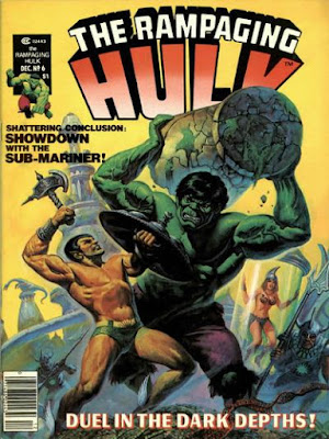 Rampaging Hulk #6, the Sub-Mariner
