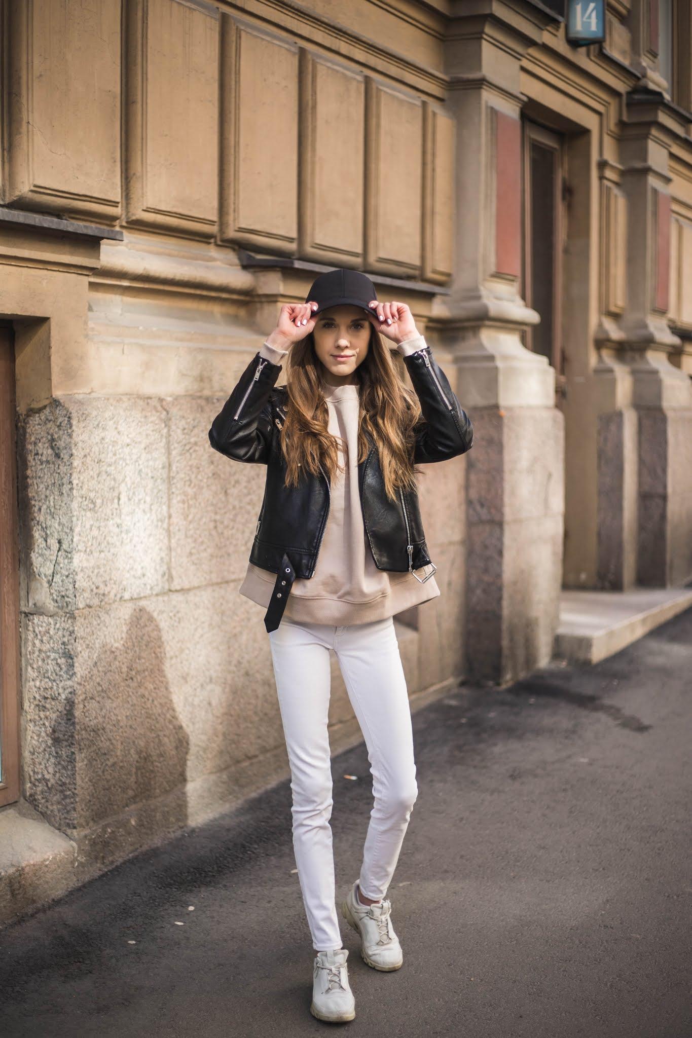 Asuinspiraatio lippiksen kanssa // Outfit inspiration with a cap