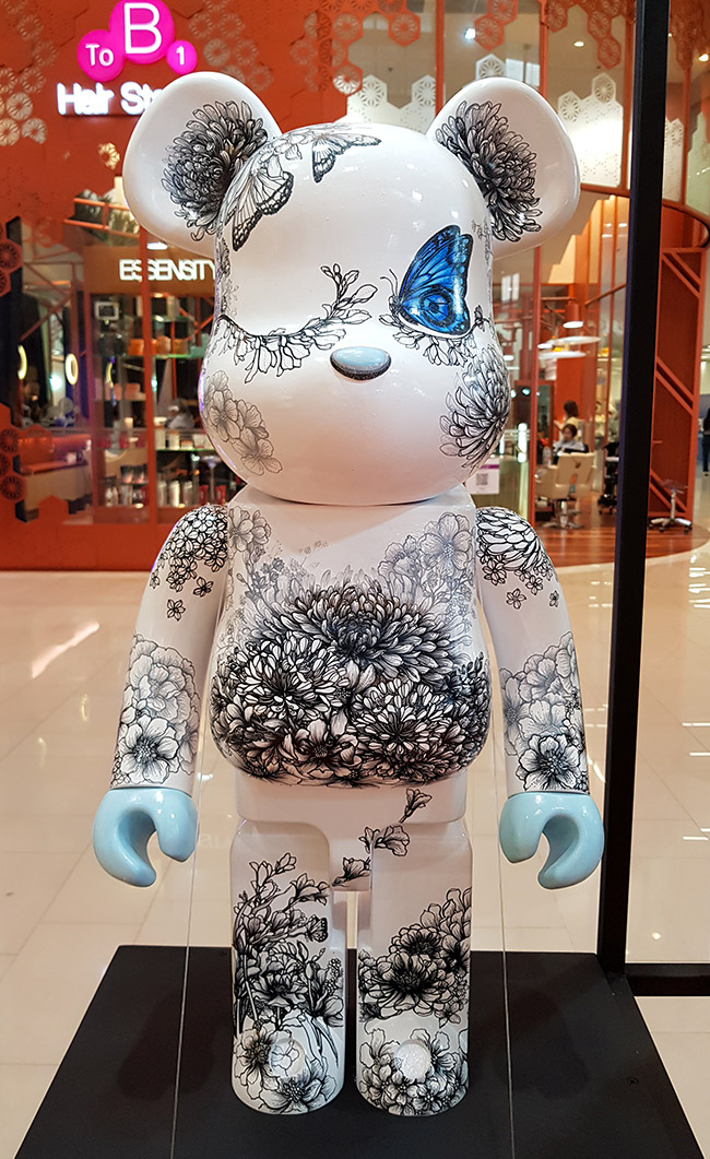 Jirawan Rewatto - Color Me Bear 2018 designer Be@rBrick toy