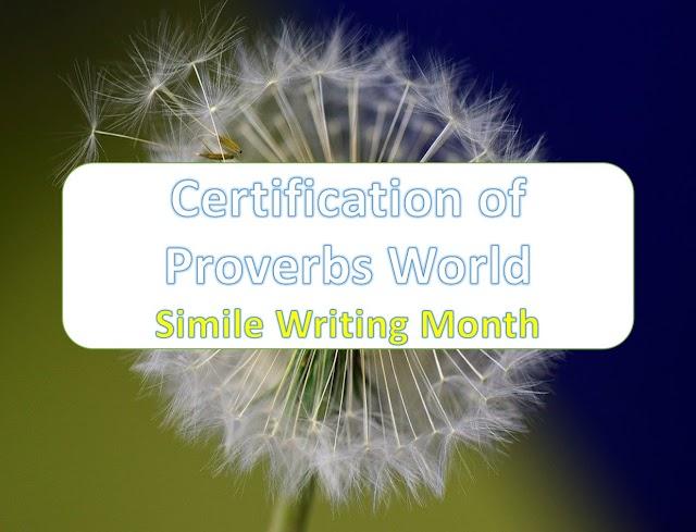 Proverbs World SimWriMo