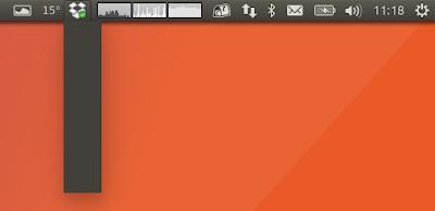Dropbox indicator menu bug Ubuntu 17.04 Zesty Zapus