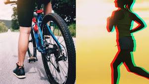 Olahraga untuk kesehatan Jantung, Lari apa Bersepeda?