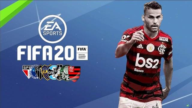 FIFA 14 MOD FIFA 20 PATCH BRASILEIRÃO V2!