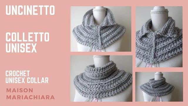 Como Tejer Cuello Alto a Crochet