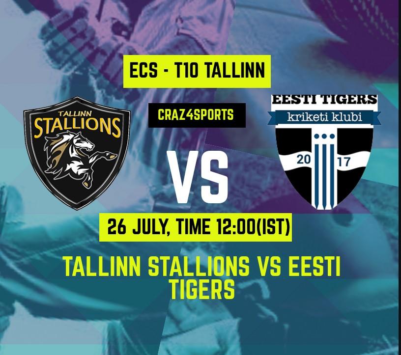 TST VS ET Dream11 prediction | TALLINN STALLIONS Vs EESTI TIGERS | Dream11 ECS T10 TALLINN | Top picks | Players stats | Pitch Report | Dream Team