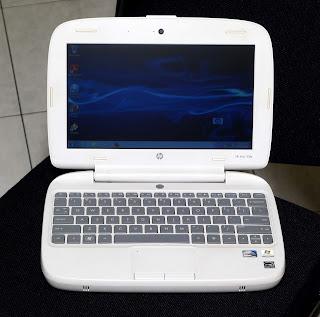 Laptop Hp Mini 100e Second di Malang